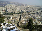 Athens from Lykavittos Hill