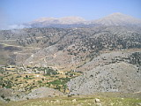 Imbros and Lefka Ori from road to Asfendou