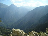 Samaria Gorge from Top
