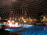 Dome Pool in Rhodos Palace Hotel During Conference Dinner