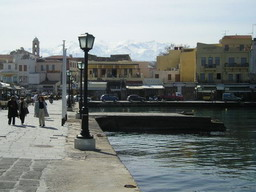 Old Harbor in Chania