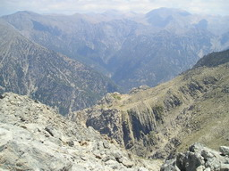 Magnificient view from Gingolos summit