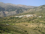 Village at Idi mountains