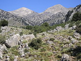 Lefka Ori Mountains lookiking from east side