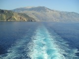 Sailing from Sougia to Gavdos Island